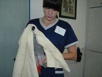 Handling der Vogelpatienten in der Kleintierpraxis